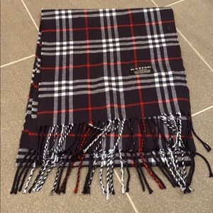 Multicolor authentic cashmere Burberry scarf
